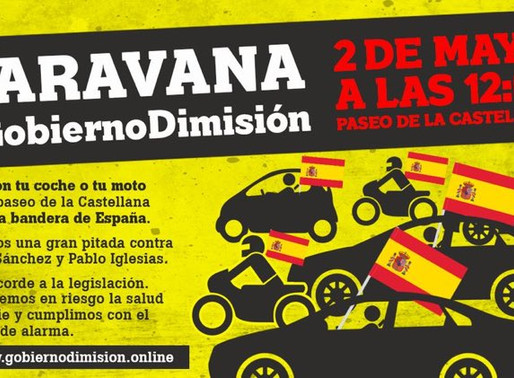 La ultraderecha española quiere colapsar este sábado Madrid para protestar contra el Gobierno