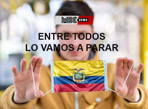 Ecuador 29.559 casos confirmados de covid 19