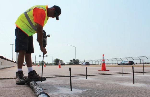 Foam Injection Company - DOT Highway repairs, industrial concrete repair, Concrete Raising, Concrete Lifting, Concrete Leveling, Baltimore, Mudjacking, Concrete Grinding, Foundation Repair Baltimore