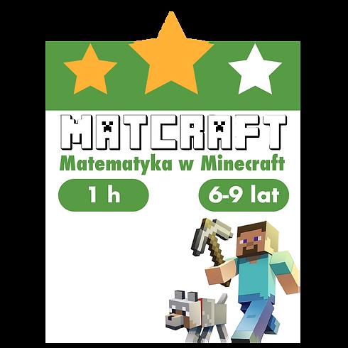 Matcraft - zajęcia pokazowe - Neptuna 16 - Poniedziałki 16:15