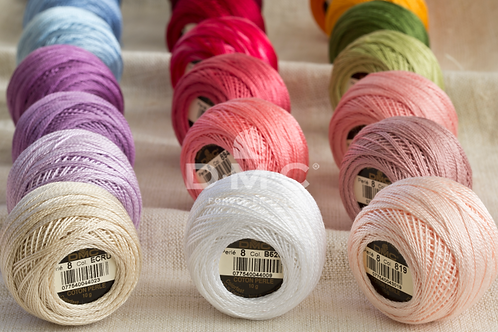 DMC Pearl Cotton Embroidery Thread 116/8 Part 4