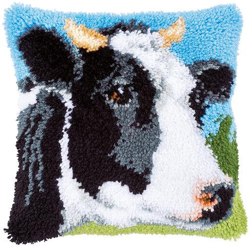 VERVACO Latch Hook Cushion Kit Cow - PN-0167994