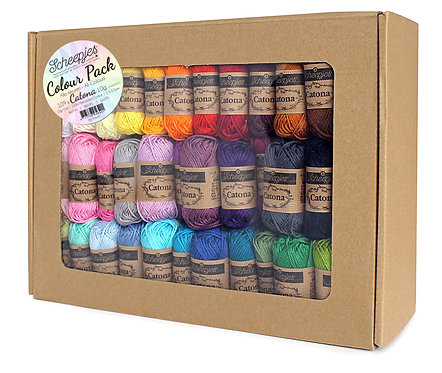 Scheepjes Catona Colour Pack #95640