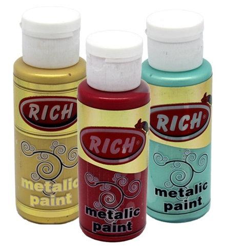 Rich Metallic Paints 130cc