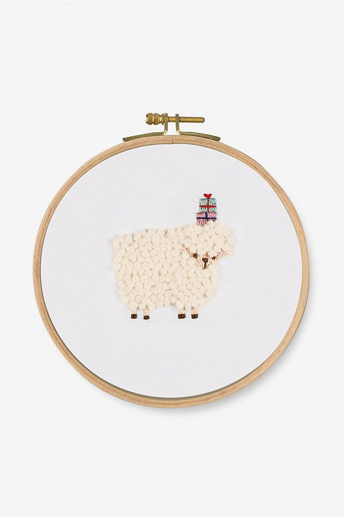 DMC Embroidery Kit Gift Sheep TB124