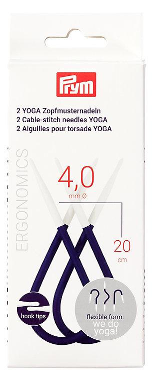 Prym's YOGA 4.00mm Cable-stitch Needles- 191112