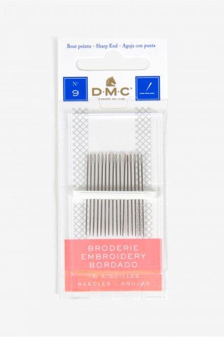 DMC Embroidery Needles Size 9 1765/6