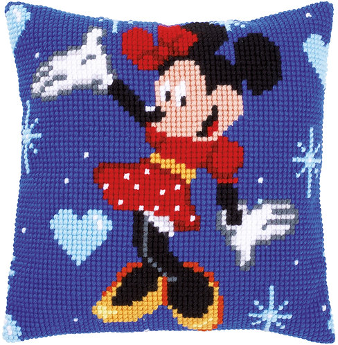 VERVACO Cross Stitch Cushion Kit Disney Minnie Mouse - PN-0014584
