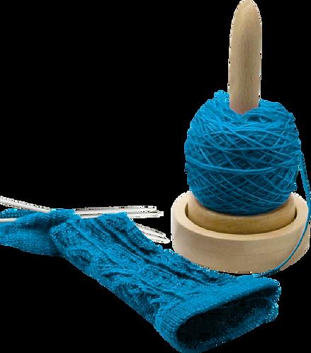 Nurge Wooden Wool & Yarn Holder