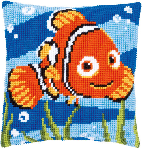 VERVACO Cross Stitch Cushion Kit Disney Nemo - PN-0014574