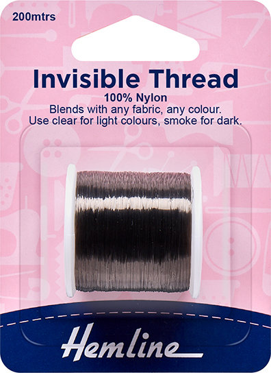 Hemline Invisible Thread (Dark) 241