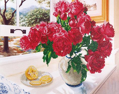 Diamond Dotz Art Kit Box - Roses by the Window (DD12.013)