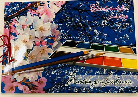 """SKETCH BOOK FOR PAINT""""SPRING""""-AL002/40"""