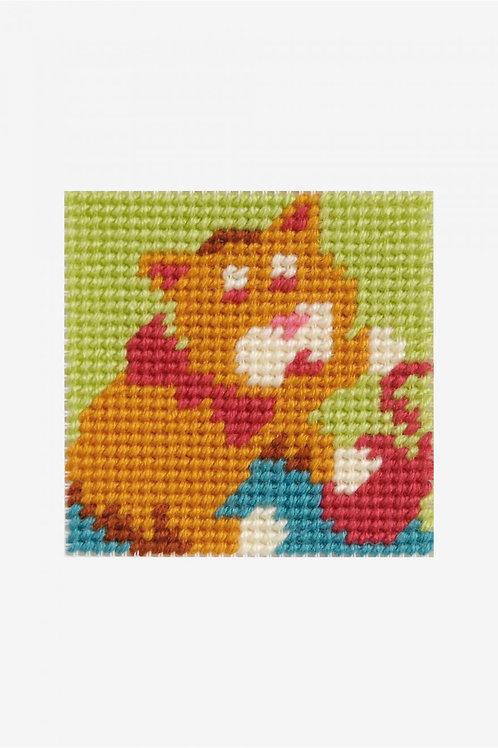 DMC Tapestry Kit Cat With Ball C09N224K