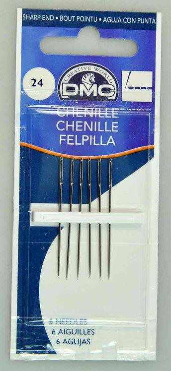 DMC Chenille Needles Size 24 (1768/5)