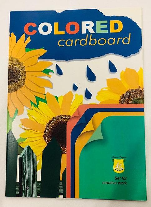 """COLOR CARDBOARD SET""""SUNFLOWER""""-N12A"""