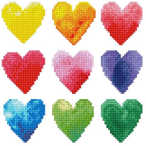 Diamond Dotz Art Kit Box - Love Rainbow (DD3.026)