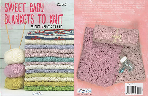 Sweet Baby Blankets to Knit 6300-1