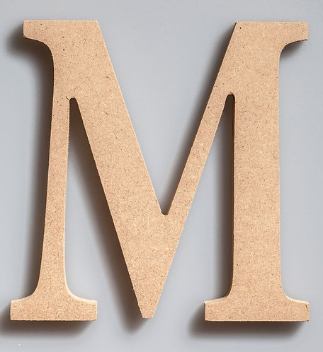 WOODEN LETTER-W150M