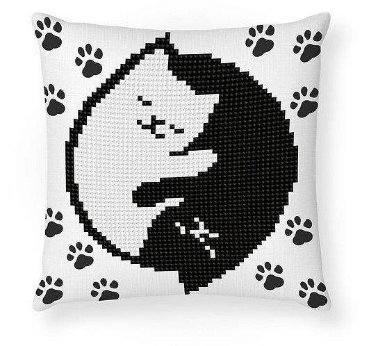 Diamond Dotz Mini Pillow- Kitty Glow (DDP2.041)