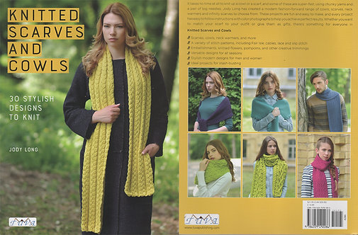 Knitted Scarves and Cowls 6290-1