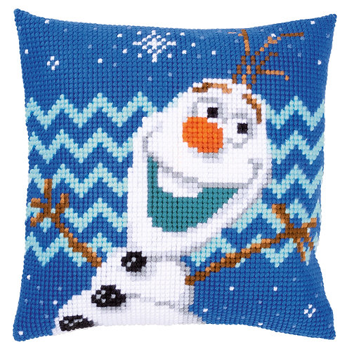 VERVACO Cross Stitch Cushion Kit Disney Olaf - PN-0165925