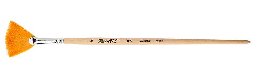 Roubloff Fan Brush No. 12-1272-12