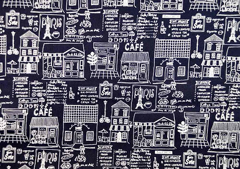 Printed Cotton Patchwork Fabric - 850192