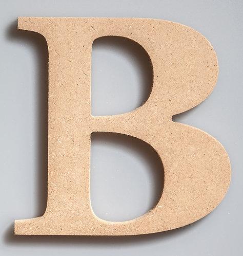 """WOODEN LETTER""""B""""-W150B"""