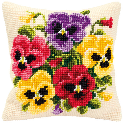 VERVACO CROSS STITCH CUSHION KIT PN-0008685
