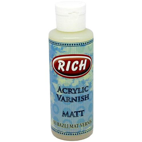 Rich Acrylic Varnish Matt - 130cc
