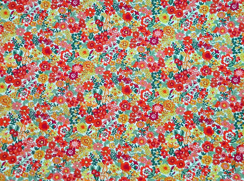 Printed Cotton Patchwork Fabric - 6118