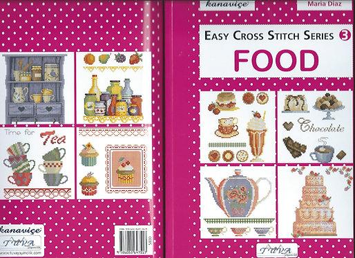 Easy Cross Stitch Series: Food