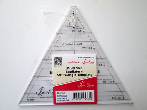 SewEasy Triangle Quilt Ruler - NL4169