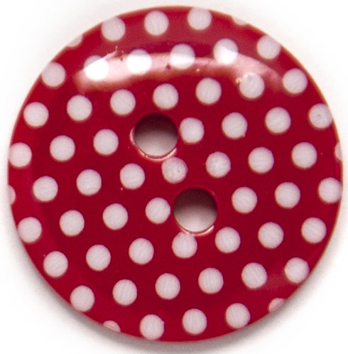 Hemline Sewing and Craft Buttons - Printed
