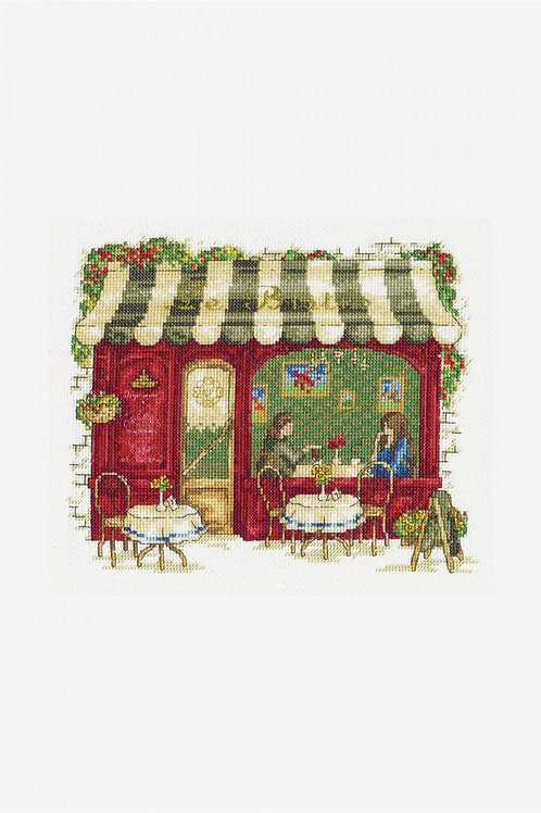 DMC Cross-Stitch Kit Bistro  BK1670
