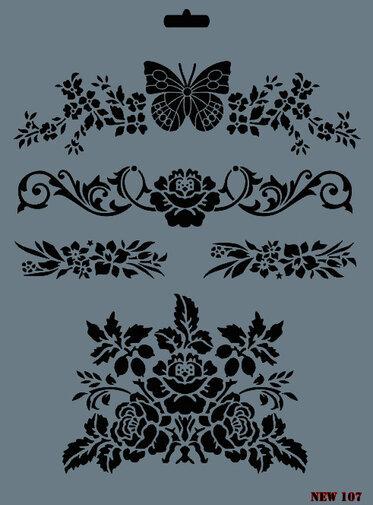 RICH Stencil-New Design 100-185