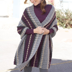 Caron Simply Soft Afternoon Wrap