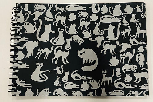 "NOTEPAD""NIGHT CATS""-BL-8918"