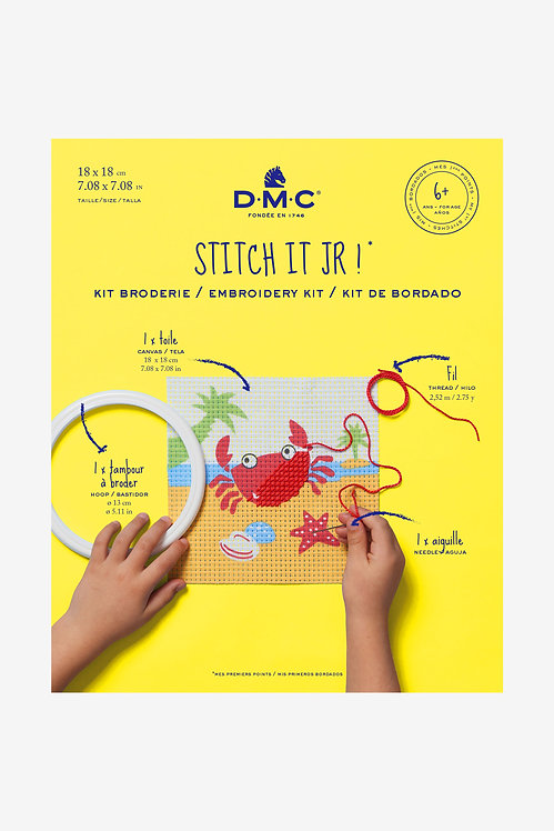 DMC Embroidery Kit THE CRAB BK1842