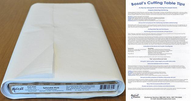Bosal Splendid Web Fabric (345)
