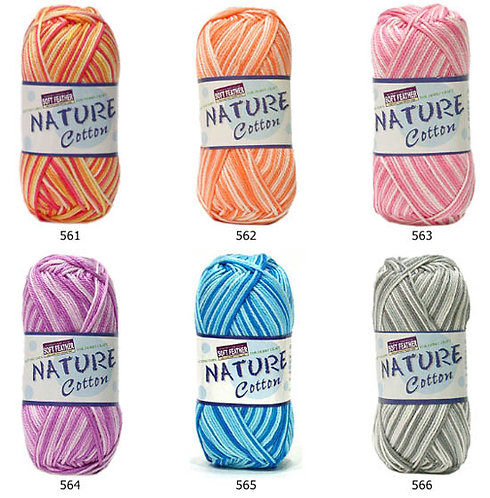 Nature cotton multi color