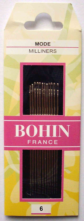 Bohin Milliner Needles #00616
