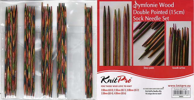 Knitpro Symfonie Double Pointed Needles Set 20651