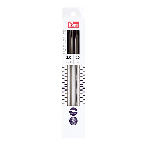 Prym Ergonomics Double Pointed Knitting Needles 20cm