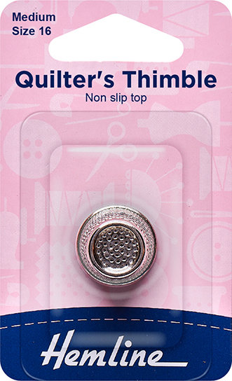 Hemline Quilter's Thimble (300.M)