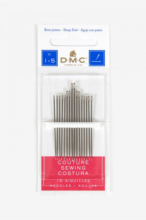 DMC Sewing Needles Size 1-5 1770/1
