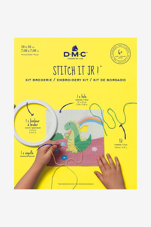 DMC Embroidery Kit THE DRAGON BK1843