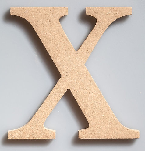 WOODEN LETTER-W150X