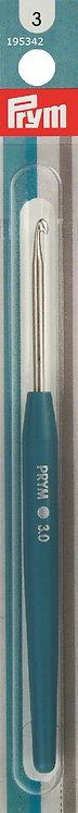 PRYM Soft-grip Wool Crochet Hook 3.00mm- 195342